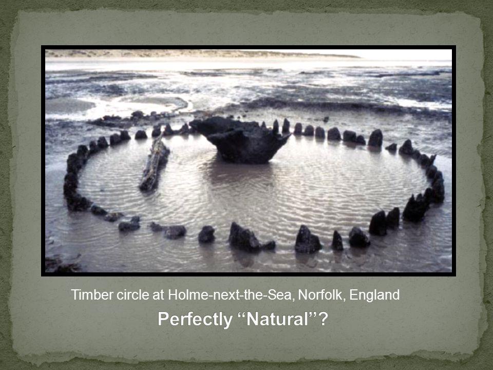 Timber circle at Holme-next-the-Sea, Norfolk, England