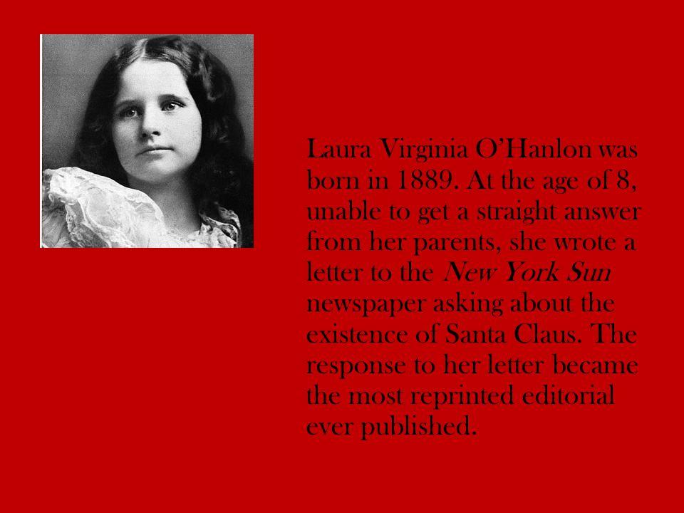 Laura Virginia O'Hanlon was born in 1889.