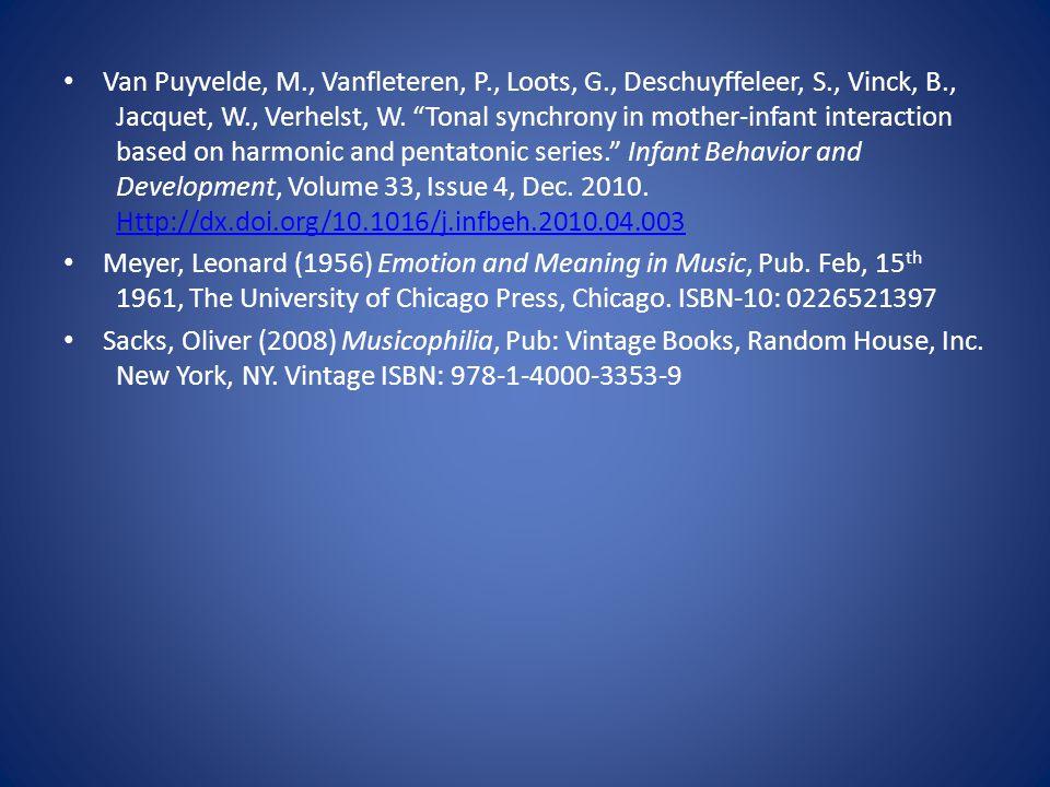 Van Puyvelde, M., Vanfleteren, P., Loots, G., Deschuyffeleer, S., Vinck, B., Jacquet, W., Verhelst, W.