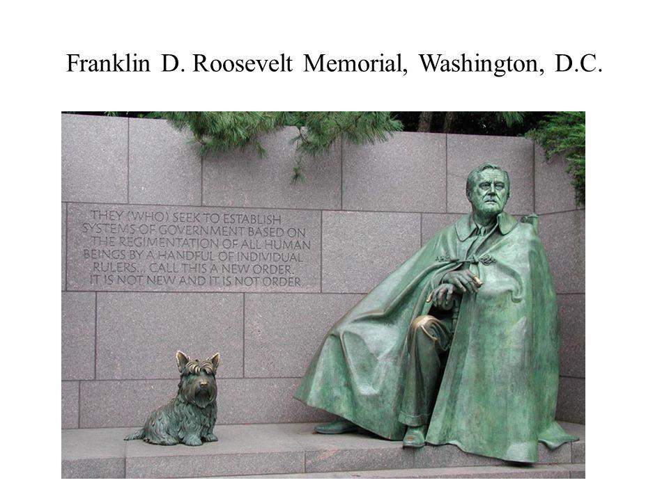 Franklin D. Roosevelt Memorial, Washington, D.C.