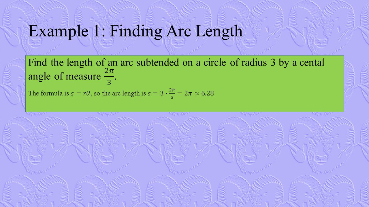 Example 7: Finding Angles in Degrees & Radians
