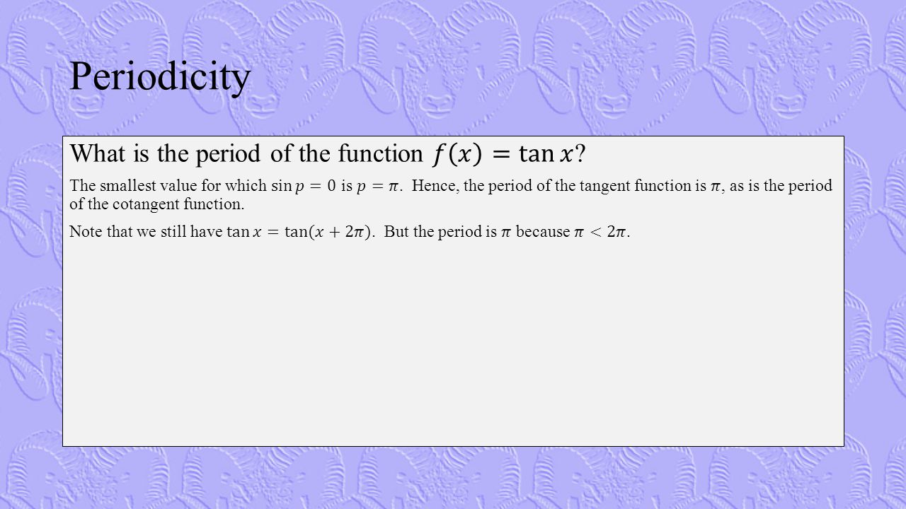 Example 5: Finding the Frequency of a Musical Note Consider the tuning fork data in Table 1.18 (Finney, page 49).