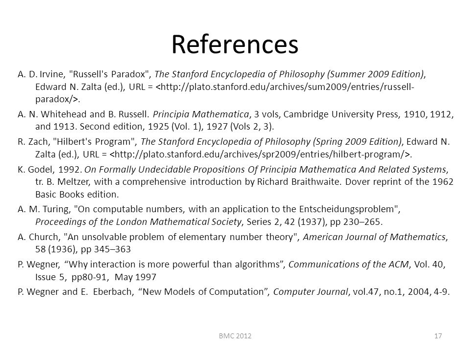 References A. D.