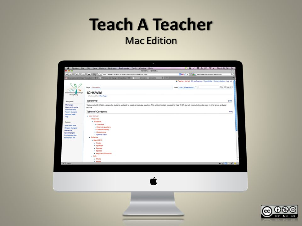 Teach A TeacherTeach A Teacher Mac EditionMac Edition