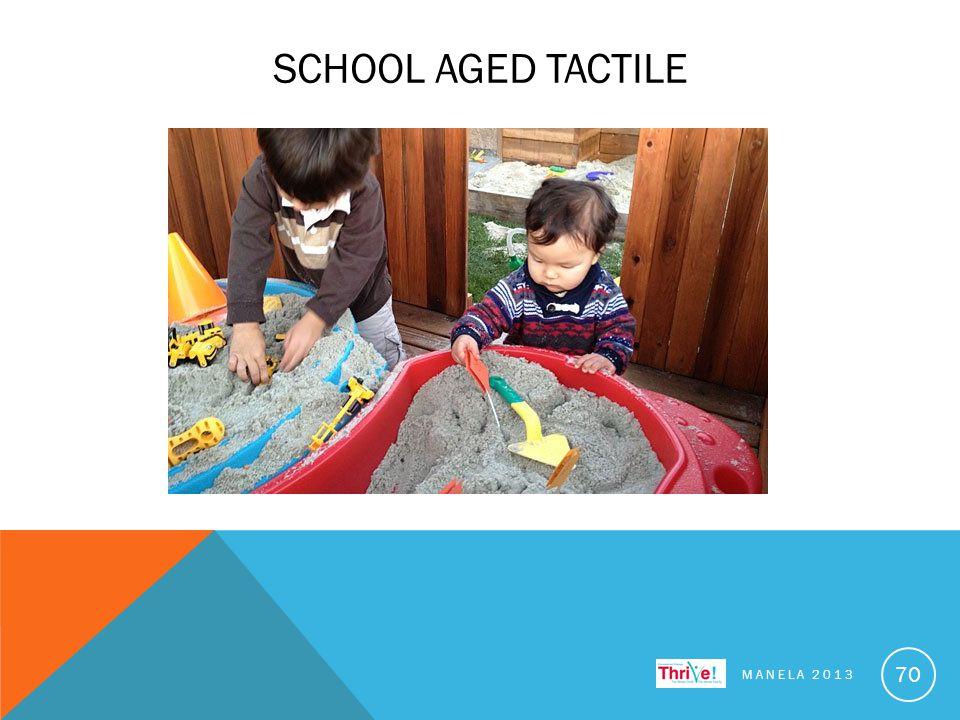 SCHOOL AGED TACTILE MANELA 2013 70