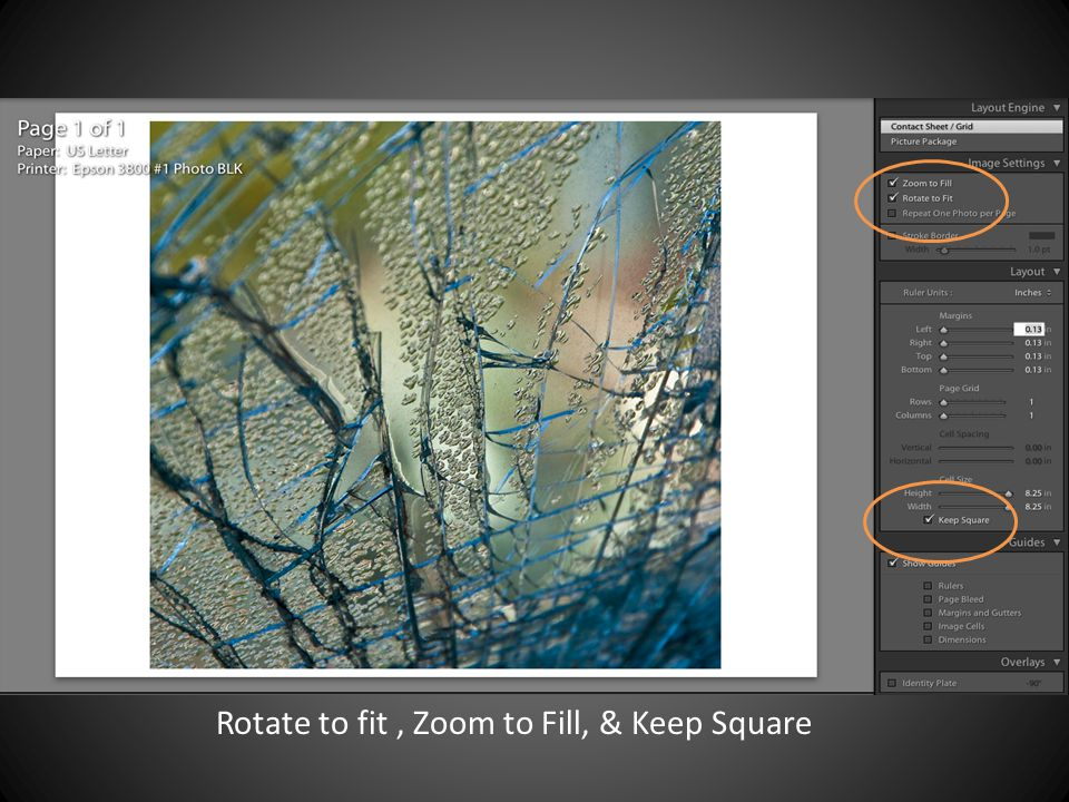 Rotate to fit, Zoom to Fill, & Keep Square