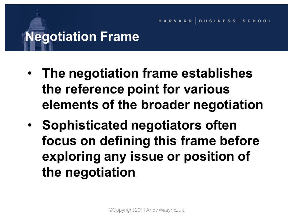 Agenda 1.Key Principles in Negotiation  Prof.