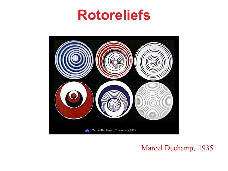 Rotoreliefs Marcel Duchamp, 1935