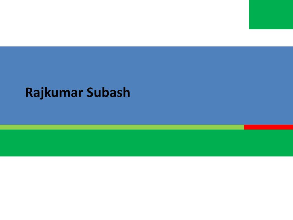Rajkumar Subash