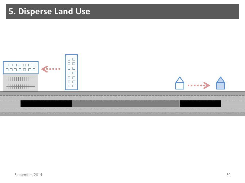 50 5. Disperse Land Use September 2014
