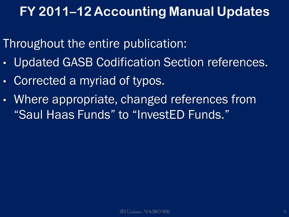FY 2011–12 Accounting Manual UpdatesAppendix F – Federal Stimulus Account Codes Information relating to ARRA and EduJobs coding is contained in Appendix F.