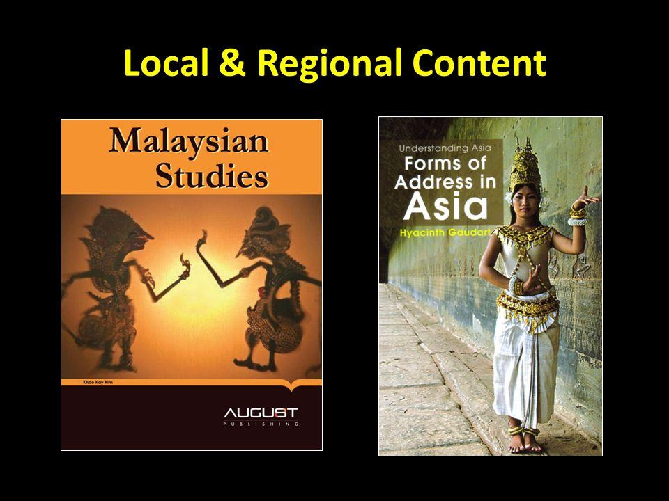 Local & Regional Content