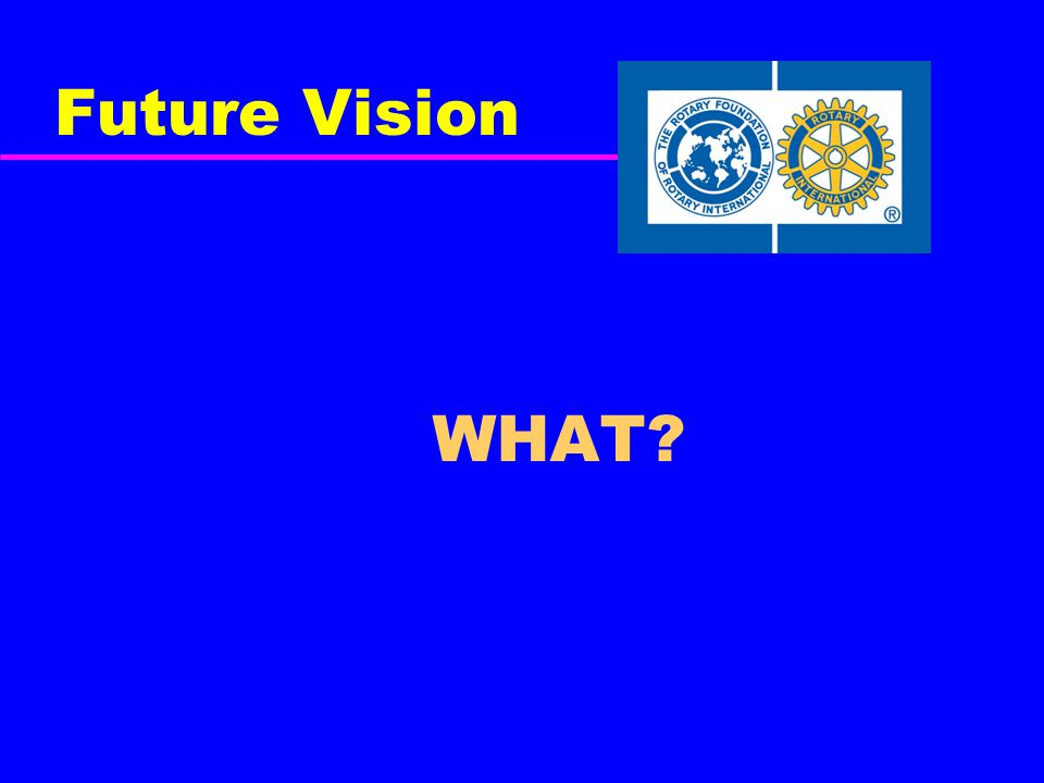 Future Vision WHAT