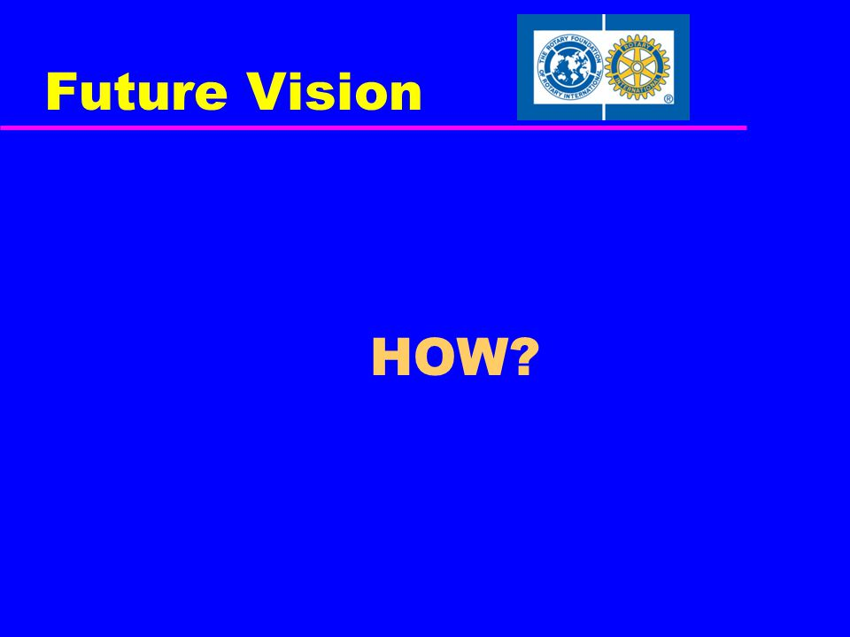 Future Vision HOW