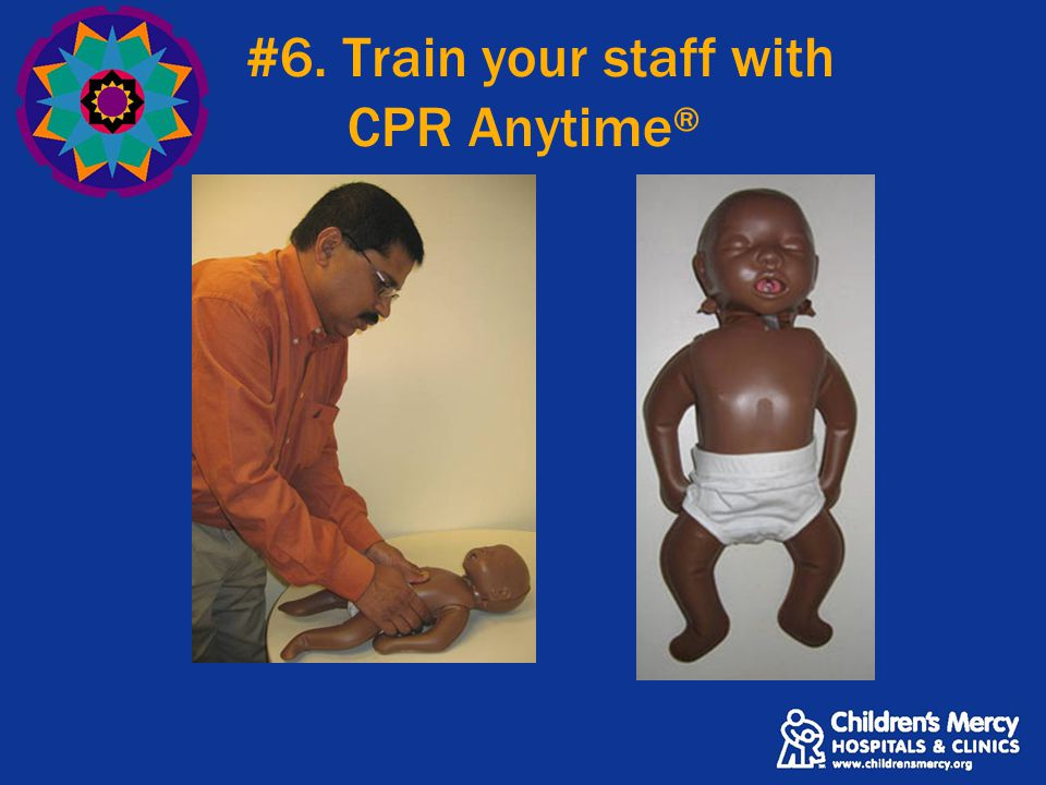 #6. Train your staff with CPR Anytime ®