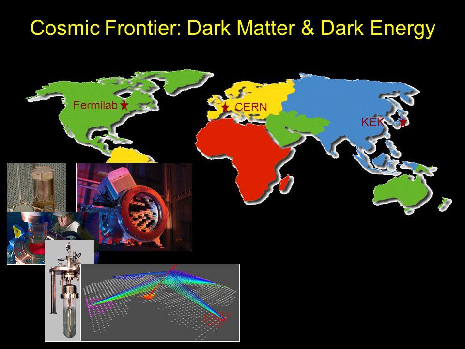 Cosmic Frontier: Dark Matter & Dark Energy Fermilab CERN KEK