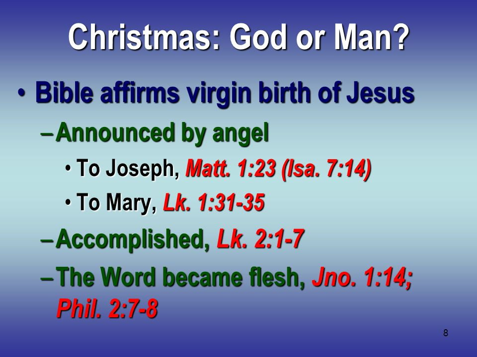 19 Christmas: What about Christians.Cannot take part in religious error 2 Jno.