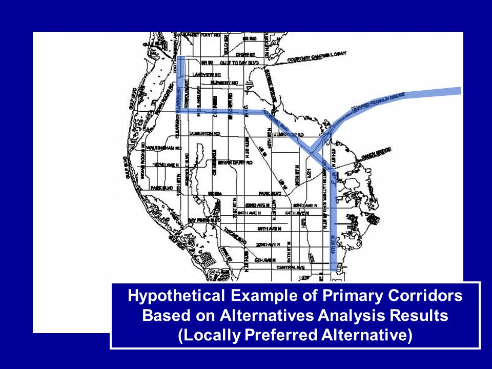 Required Transit Station Area Plans A TSAP must address at least one transit station area (generally ½ mile radius from transit station or transit center) A TSAP may also address transit corridors that extend outside of the transit station area Can extend to other transit station areas