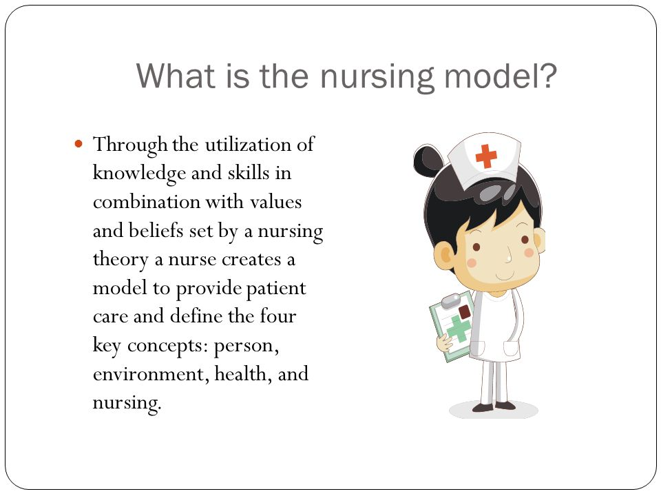 What is the nursing model.