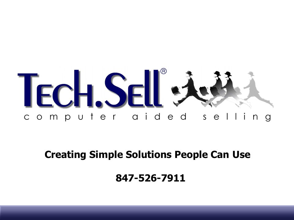 Creating Simple Solutions People Can Use 847-526-7911