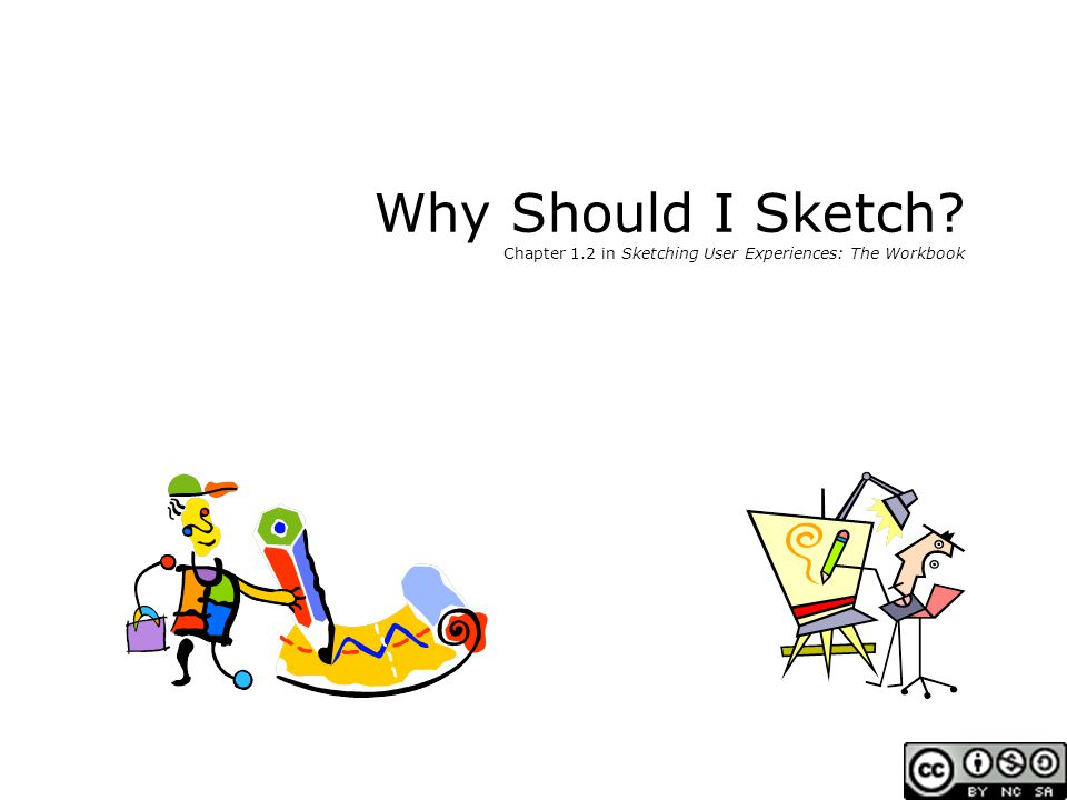 Sketching User Experiences: The Workbook Exploring alternatives Getting the Right Design generate many ideas and variations reflect on all ideas choose the ones that look most promisting develop them in parallel add new ideas as they come up then iterate your final choice