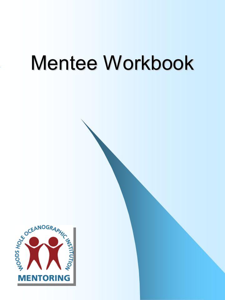 Mentee Workbook