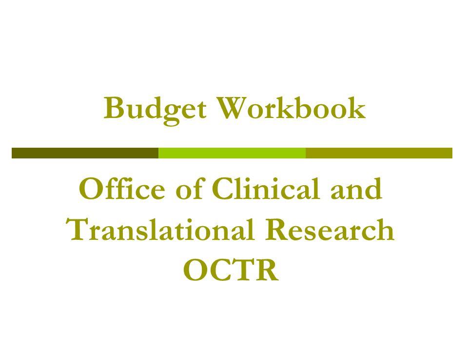Why do a Budget Workbook.