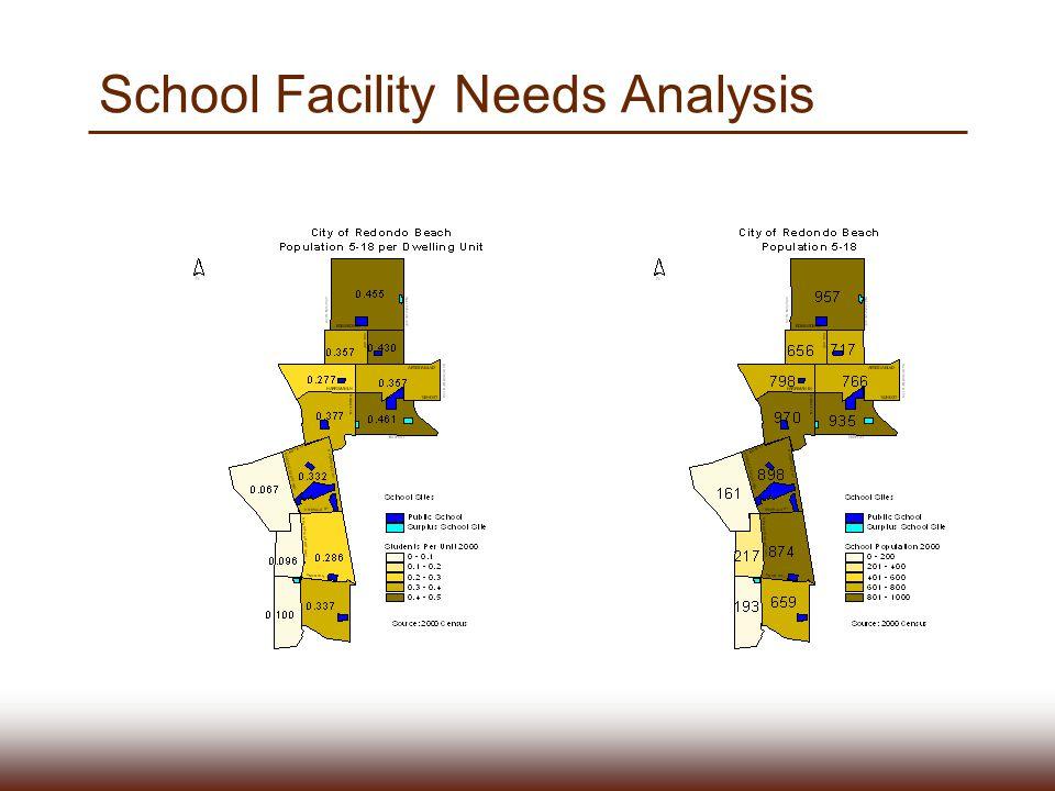 School Facility Needs Analysis