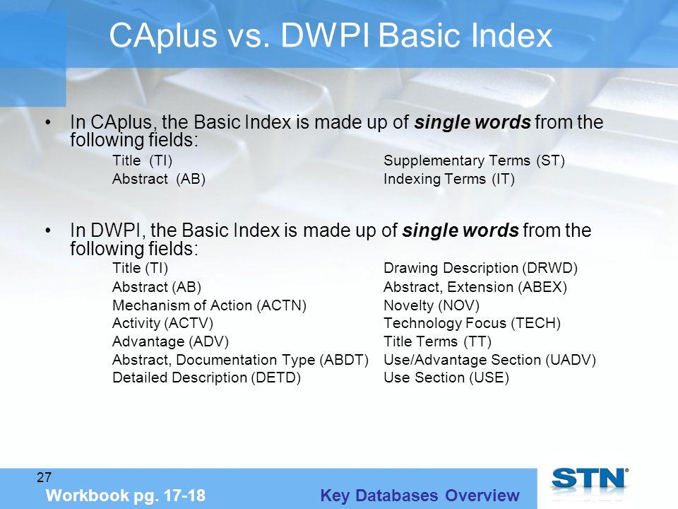27 CAplus vs.