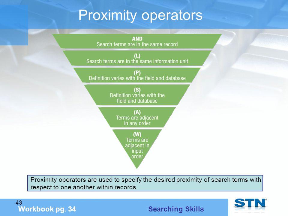 43 Proximity operators Workbook pg.