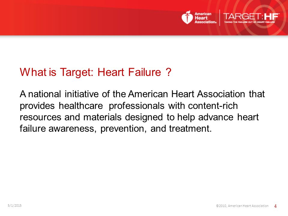 A national initiative of the American Heart Association that provides healthcare professionals with content-rich resources and materials designed to h