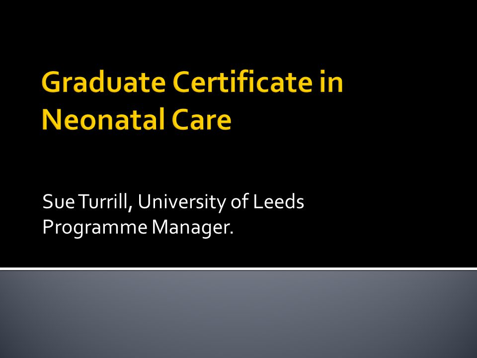 Sue Turrill, University of Leeds Programme Manager.