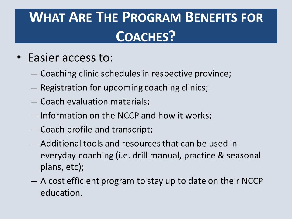 The proposed fee per coach to purchase a login and password for the online coaching program is $50.
