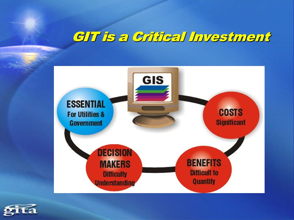 GIT is a Critical Investment