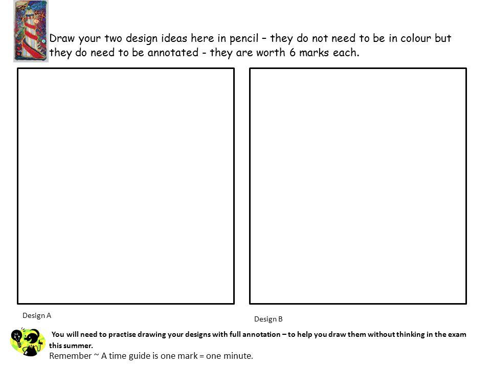 Final Design Choose ONE of your design ideas for development.