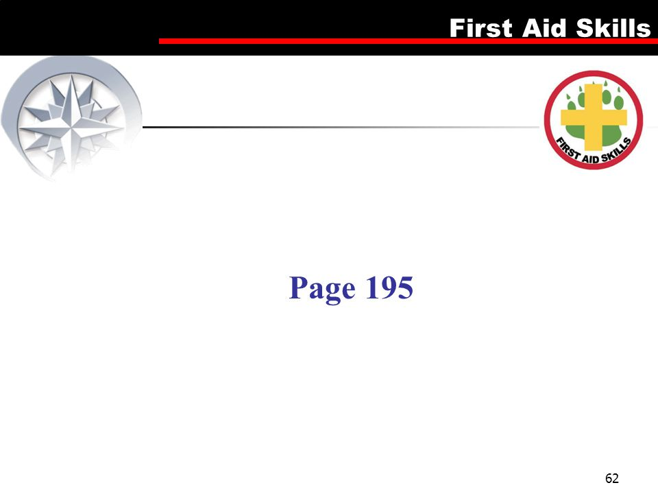 First Aid Skills 62 Page 195