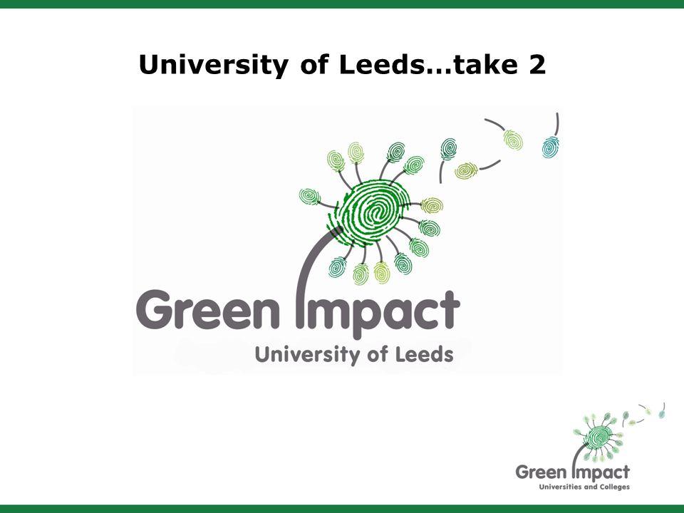 University of Leeds…take 2