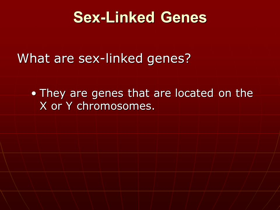 Is the following sentence true or false? The Y chromosome does not contain any genes at all. False