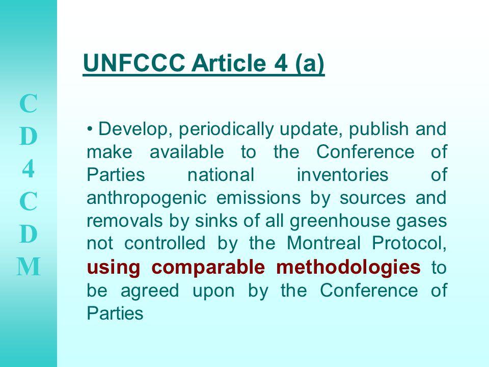 CD4CDMCD4CDM Sample CDM Projects and Emissions Reduction 1.