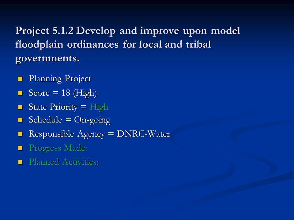 Project 2.2.5 Explore economic incentives for mitigation (i.e.