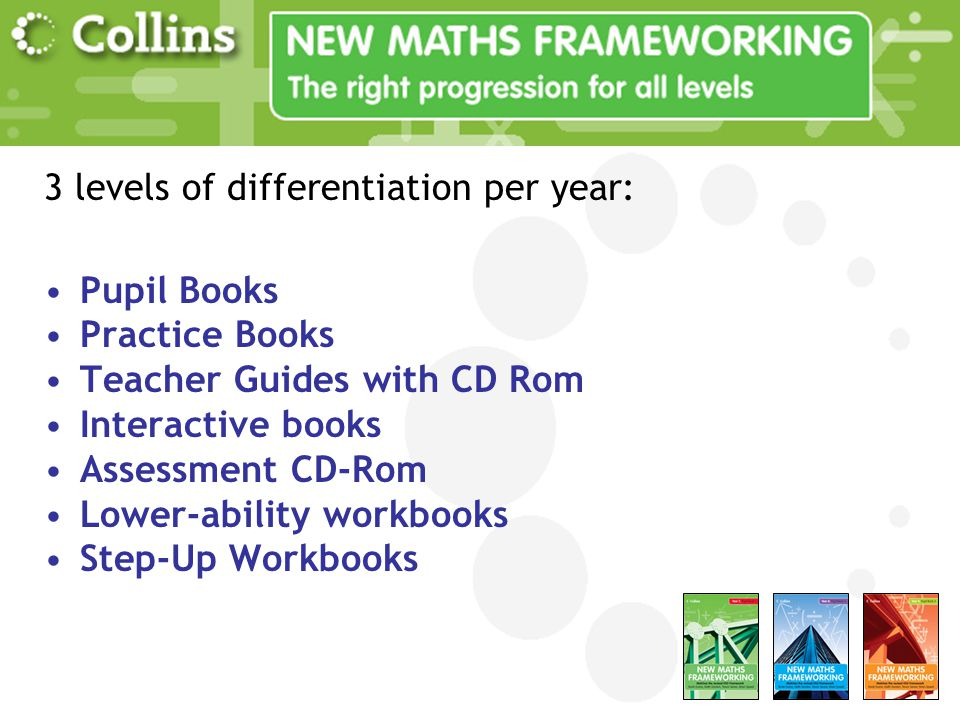 UK Market share No.1 bestselling Maths scheme at KS3 in the UK! Over 40% market share