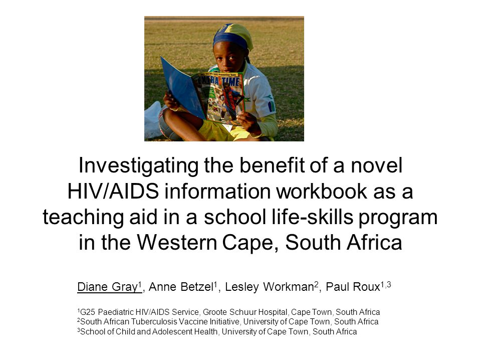 We could not control for information 'leak' We did not control life skills input for comparison classes Teachers were not trained in the use of the workbook as a teaching tool We did not assess other possible benefits: –Behavioural outcomes –Dissemination of information at home and community –Effects on HIV/AIDS related attitiudes