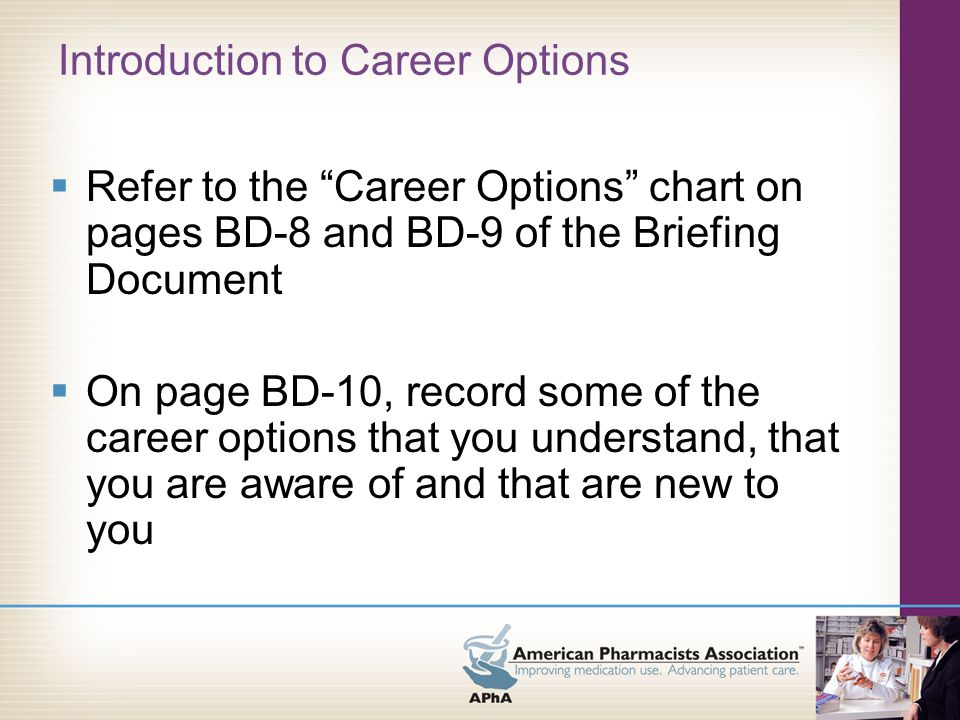 Follow-Up Materials  Overview  Guide to Numerical Scales  Tools for Assessing Yourself –Rating the Critical Factors –Weighting the Critical Factors –Working the Critical Factors  Tools for Evaluating Career Options –Decision Balance Sheet –Decision Matrix  Tools for Evaluating Professional Experiences –Introduction –Pre-Professional Experience Evaluation –Post-Professional Experience Evaluation  Suggested Readings  Career Specialty Profiles (online)