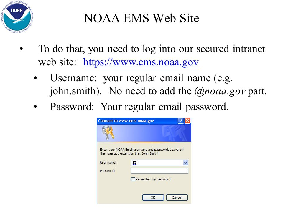 NOAA EMS Web Site Having said that, there is an easier way to develop your EMS.