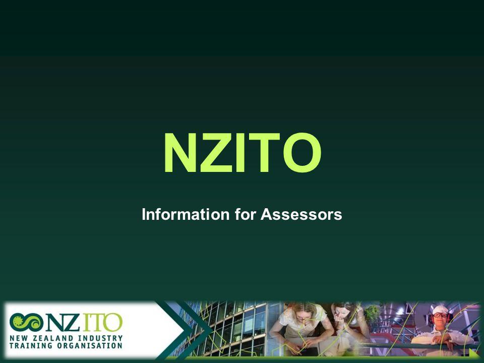 NZITO Information for Assessors