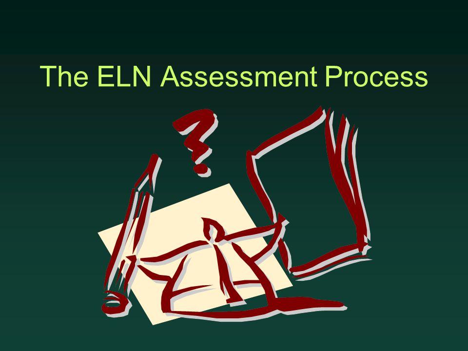 The ELN Assessment Process