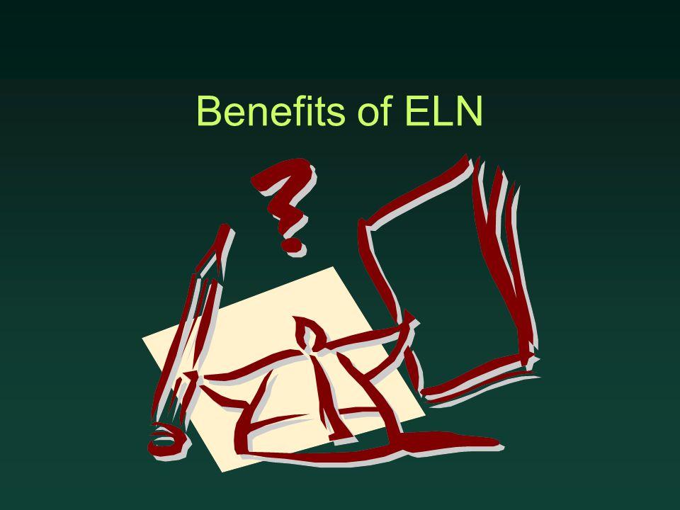 Benefits of ELN