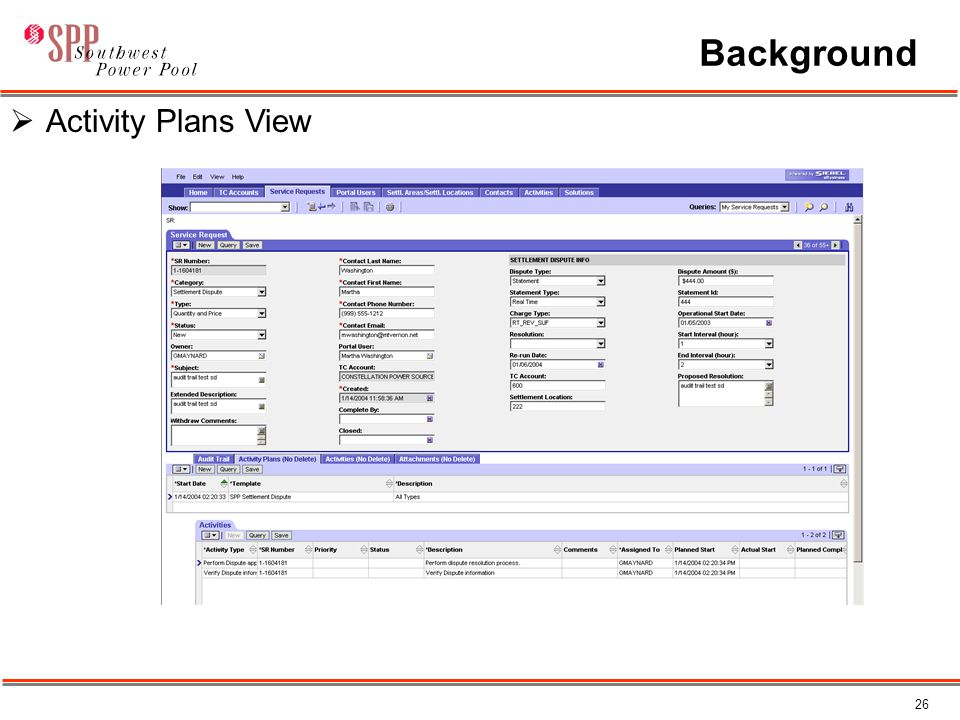 26 Background  Activity Plans View