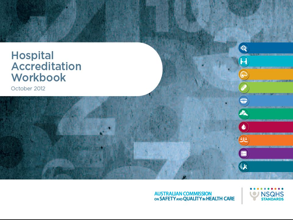 Accreditation workbook