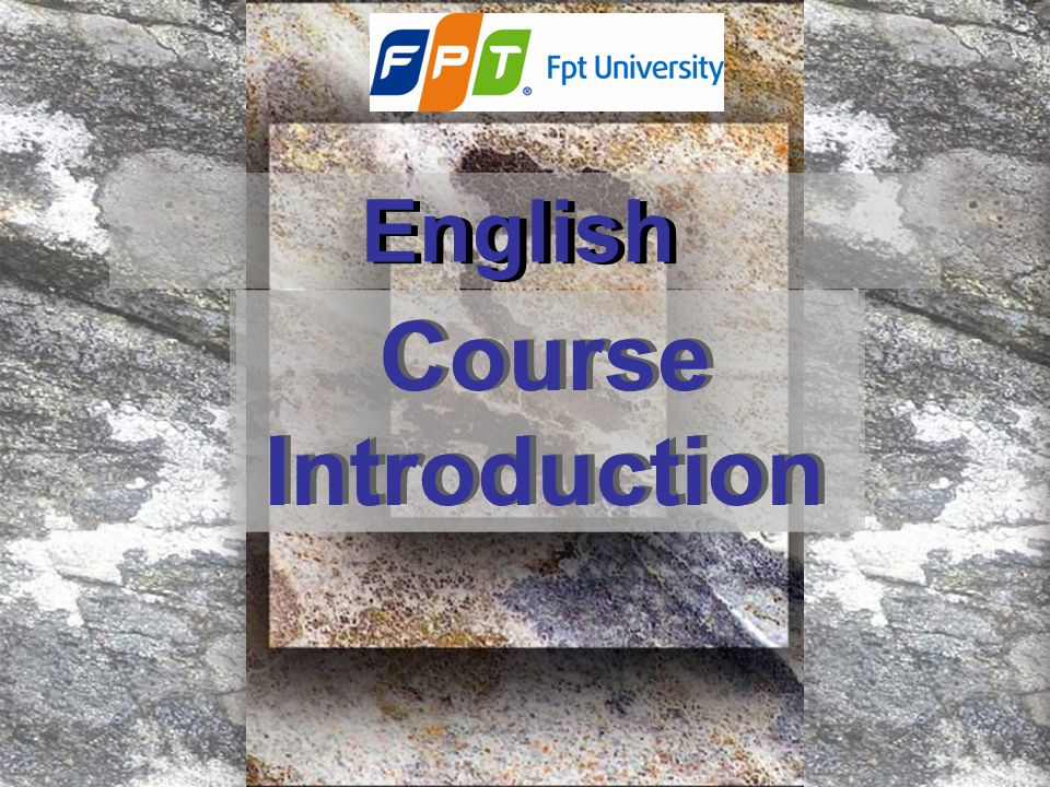 English Course Introduction
